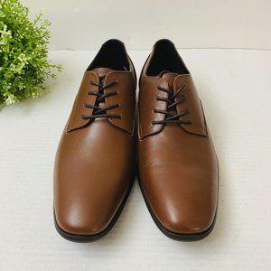 calvin klein men's lucca leather dress shoes